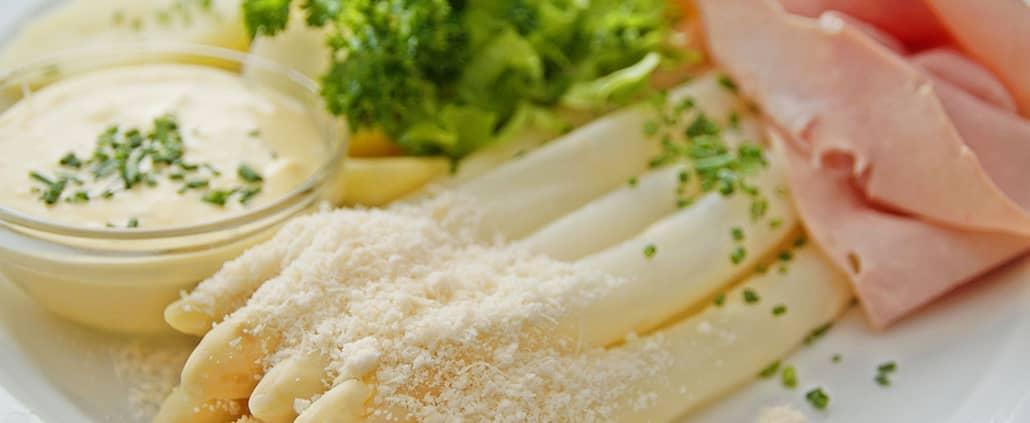 Specialita di asparagi per buongustai