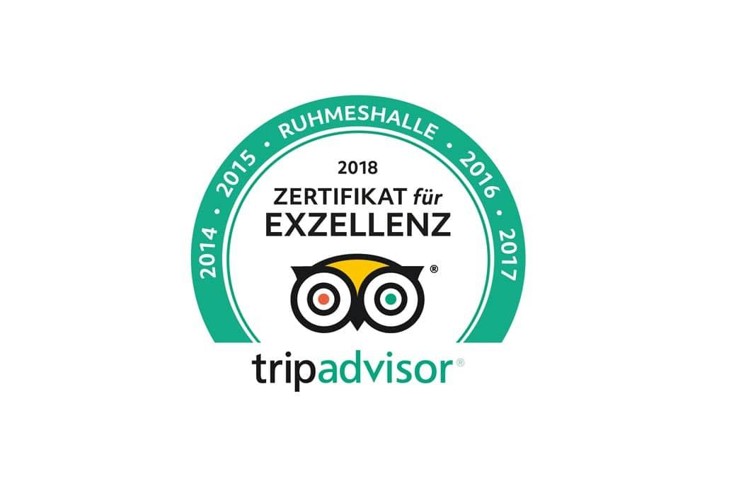 TripAdvisor Zertifikat 2018